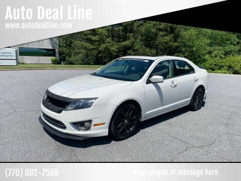 2011 Ford Fusion for sale at Auto Deal Line in Alpharetta GA