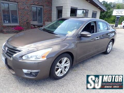 2014 Nissan Altima for sale at S & J Motor Co Inc. in Merrimack NH