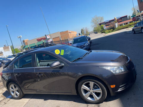 2014 Chevrolet Cruze for sale at Sanaa Auto Sales LLC in Denver CO