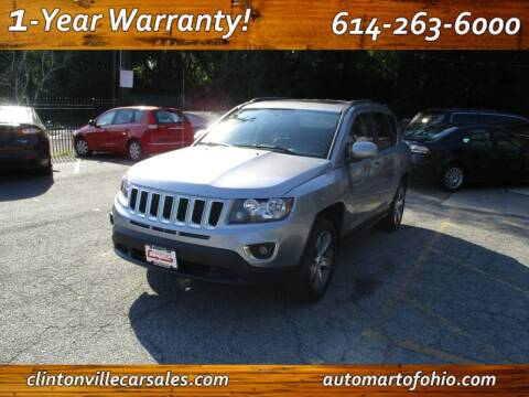 2017 Jeep Compass for sale at Clintonville Car Sales - AutoMart of Ohio in Columbus OH