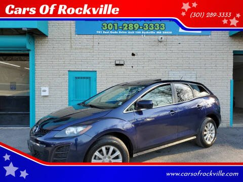 2011 Mazda CX-7 for sale at Cars Of Rockville in Rockville MD