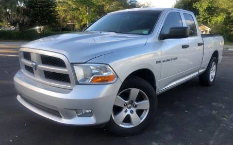 2012 RAM Ram Pickup 1500 for sale at LUXURY AUTO MALL in Tampa FL