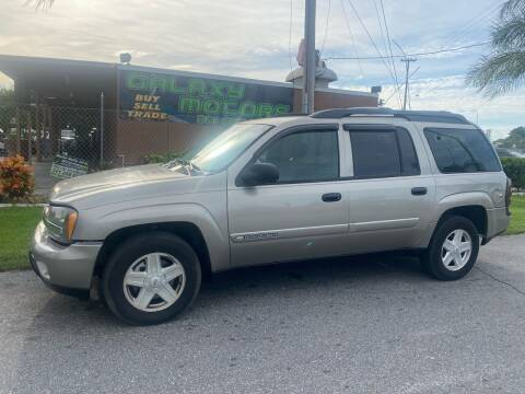 2003 Chevrolet TrailBlazer for sale at Galaxy Motors Inc in Melbourne FL