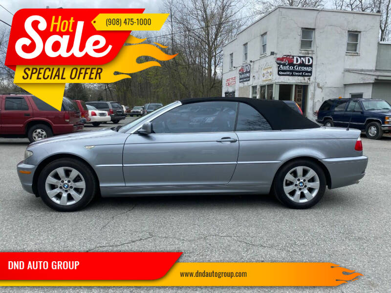 2005 BMW 3 Series for sale at DND AUTO GROUP in Belvidere NJ