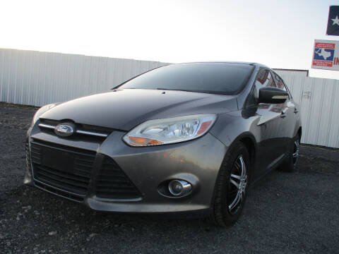 2012 Ford Focus for sale at Texas Country Auto Sales LLC in Austin TX