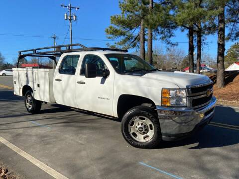 2013 Chevrolet Silverado 2500HD for sale at THE AUTO FINDERS in Durham NC