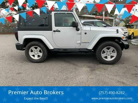 2007 Jeep Wrangler for sale at Premier Auto Brokers in Virginia Beach VA