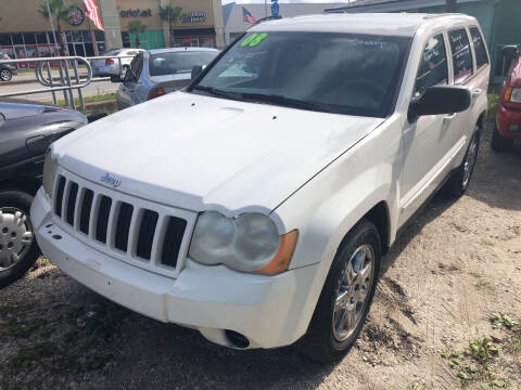 2008 Jeep Grand Cherokee for sale at Castagna Auto Sales LLC in Saint Augustine FL