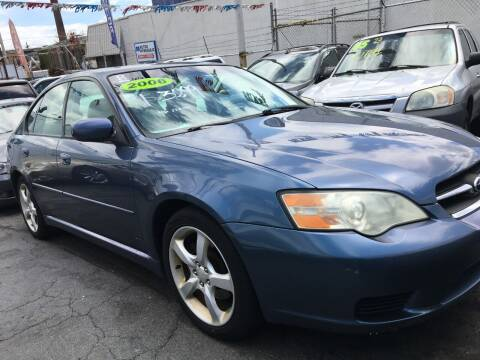 2006 Subaru Legacy for sale at GW MOTORS in Newark NJ