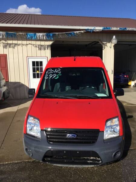 2012 Ford Transit Connect for sale at Stewart's Motor Sales in Cambridge/Byesville OH
