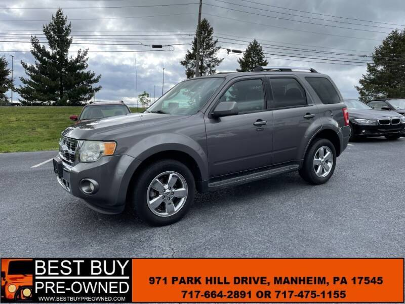 2011 Ford Escape for sale at Best Buy Pre-Owned in Manheim PA