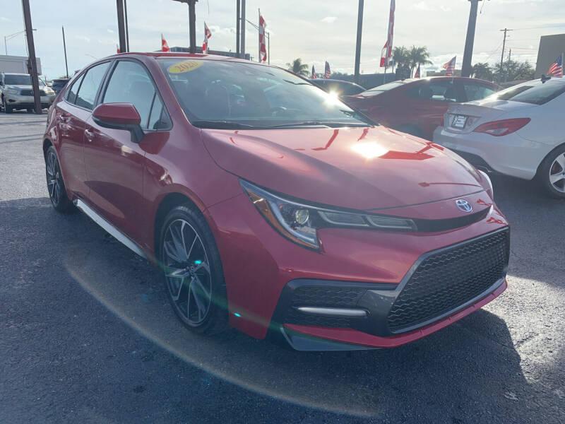 2020 Toyota Corolla for sale at MACHADO AUTO SALES in Miami FL