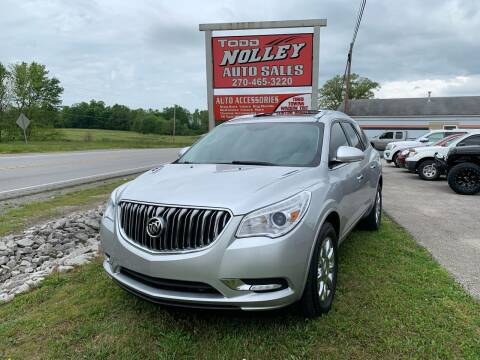 2015 Buick Enclave for sale at Todd Nolley Auto Sales in Campbellsville KY