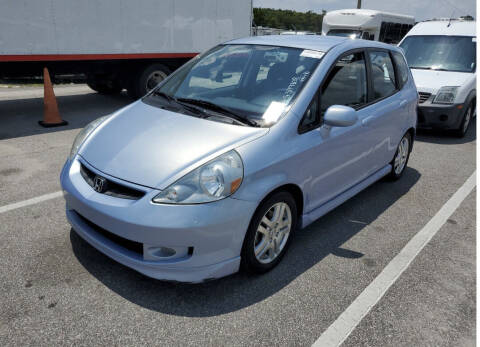 2008 Honda Fit for sale at IMAGINE CARS and MOTORCYCLES in Orlando FL
