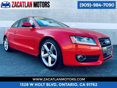 2010 Audi A5 for sale at Ontario Auto Square in Ontario CA
