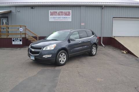 2010 Chevrolet Traverse for sale at Dave's Auto Sales in Winthrop MN