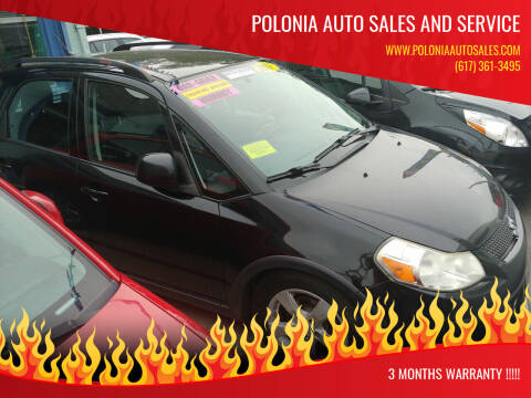 2011 Suzuki SX4 Crossover for sale at Polonia Auto Sales and Service in Hyde Park MA
