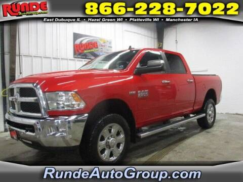 2016 RAM Ram Pickup 2500 for sale at Runde Chevrolet in East Dubuque IL