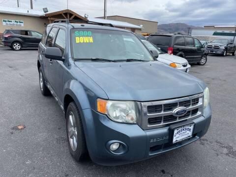2010 Ford Escape for sale at Creekside Auto Sales in Pocatello ID