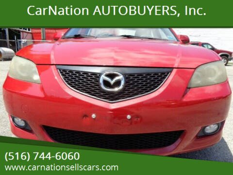 2005 Mazda MAZDA3 for sale at CarNation AUTOBUYERS, Inc. in Rockville Centre NY