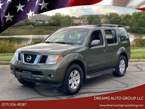 2005 Nissan Pathfinder for sale at Dreams Auto Group LLC in Sterling VA