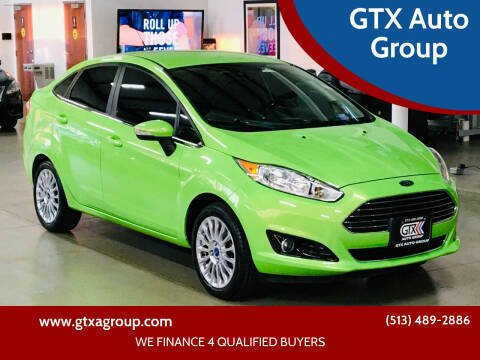 2014 Ford Fiesta for sale at GTX Auto Group in West Chester OH