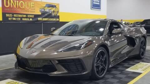 2020 Chevrolet Corvette for sale at UNIQUE SPECIALTY & CLASSICS in Mankato MN