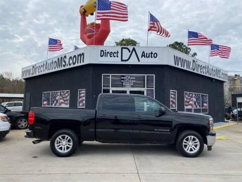 2014 Chevrolet Silverado 1500 for sale at Direct Auto in D'Iberville MS