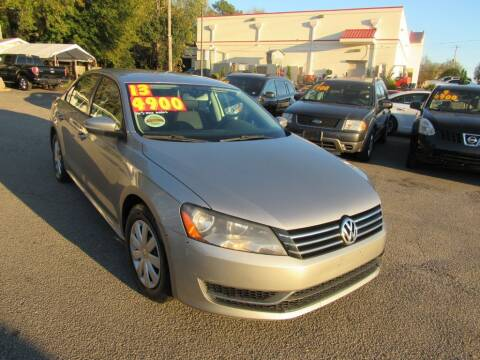 2013 Volkswagen Passat for sale at Auto Bella Inc. in Clayton NC