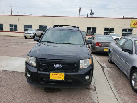 2010 Ford Escape for sale at Brothers Used Cars Inc in Sioux City IA