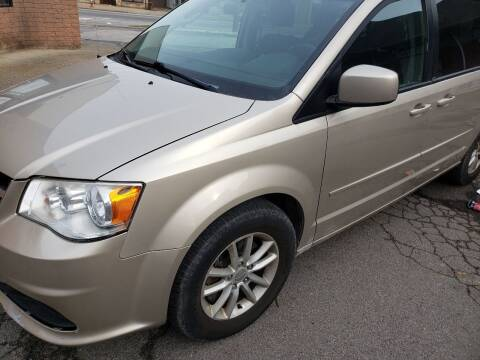 2013 Dodge Grand Caravan for sale at USA AUTO WHOLESALE LLC in Cleveland OH