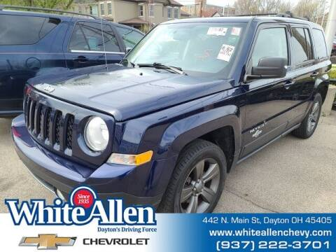 2014 Jeep Patriot for sale at WHITE-ALLEN CHEVROLET in Dayton OH