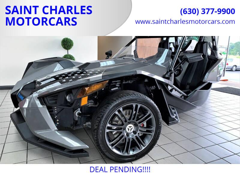 2015 Polaris Slingshot for sale at SAINT CHARLES MOTORCARS in Saint Charles IL