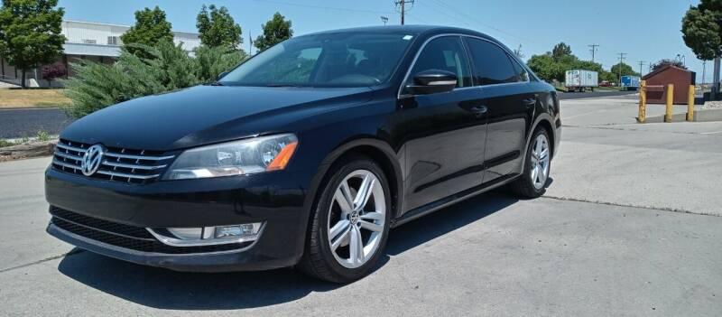 2013 Volkswagen Passat for sale at AUTOMOTIVE SOLUTIONS in Salt Lake City UT