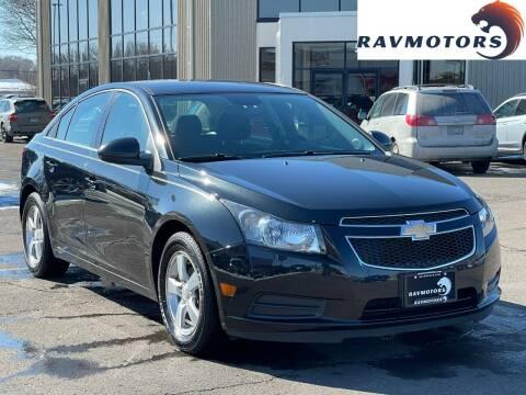2012 Chevrolet Cruze for sale at RAVMOTORS 2 in Crystal MN