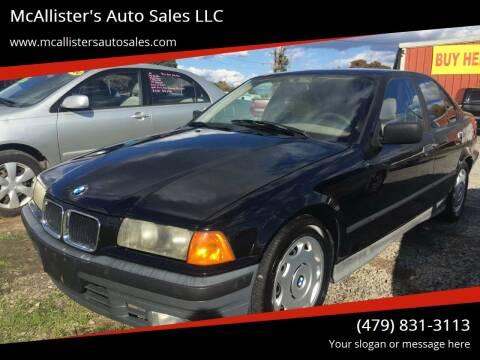 1994 BMW 3 Series for sale at McAllister's Auto Sales LLC in Van Buren AR
