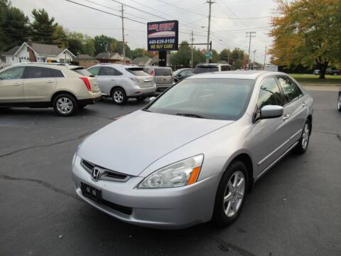 2004 Honda Accord for sale at Lake County Auto Sales in Painesville OH