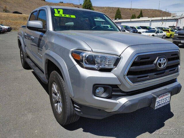 2017 Toyota Tacoma for sale at Guy Strohmeiers Auto Center in Lakeport CA
