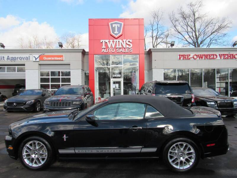 2013 Ford Mustang for sale at Twins Auto Sales Inc in Detroit MI