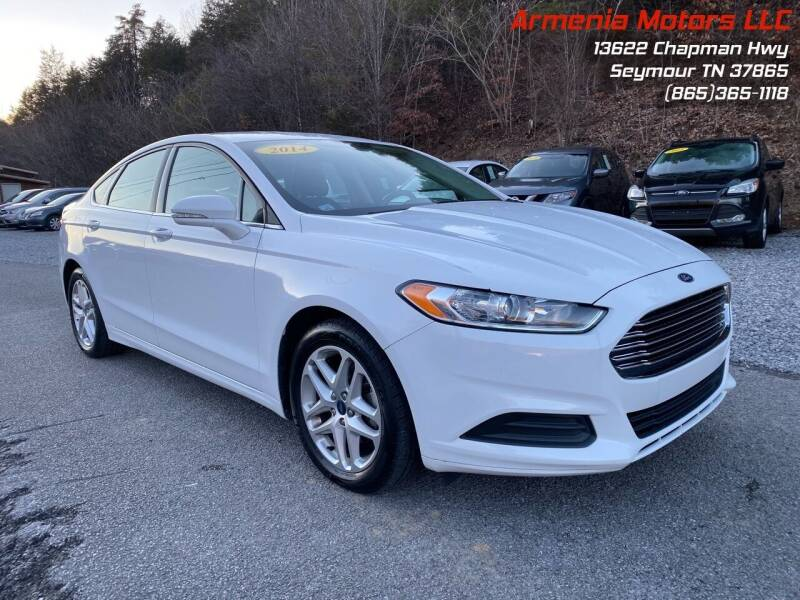 2014 Ford Fusion for sale at Armenia Motors in Seymour TN