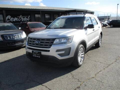 2016 Ford Explorer for sale at Central Auto in South Salt Lake UT