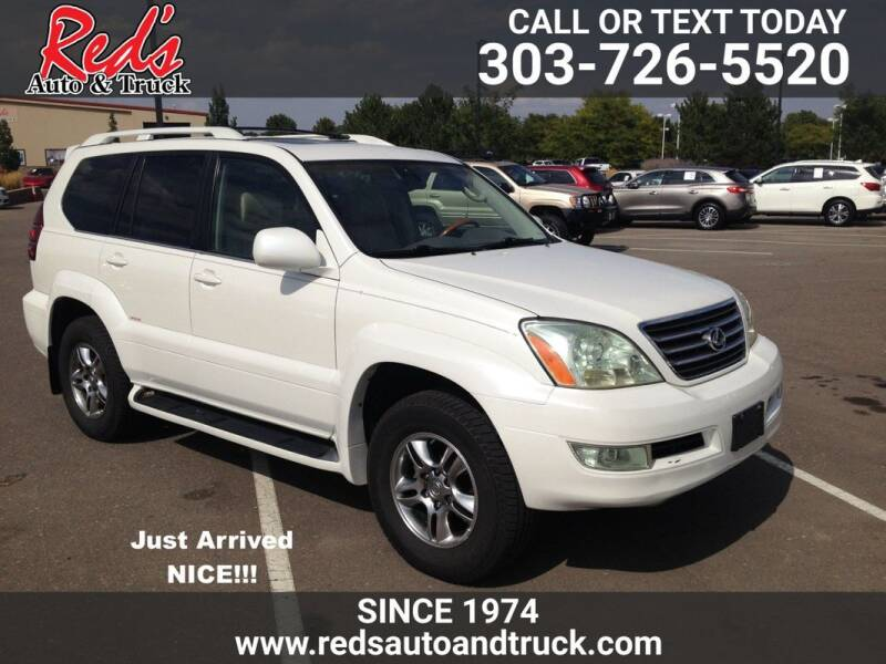 2006 Lexus GX 470 for sale at Red's Auto and Truck in Longmont CO