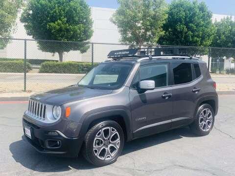 2016 Jeep Renegade for sale at CARLIFORNIA AUTO WHOLESALE in San Bernardino CA