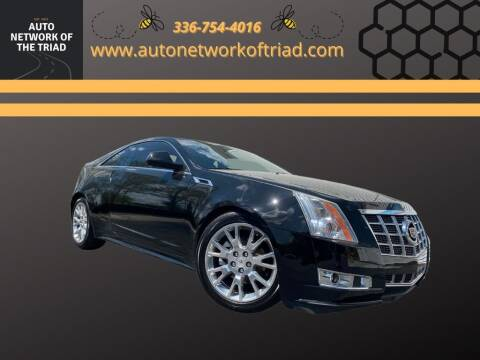 2013 Cadillac CTS for sale at Auto Network of the Triad in Walkertown NC