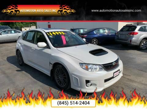 2012 Subaru Impreza for sale at Automotion Auto Sales Inc in Kingston NY
