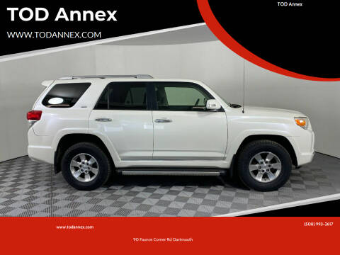 2012 Toyota 4Runner for sale at TOD Annex in North Dartmouth MA