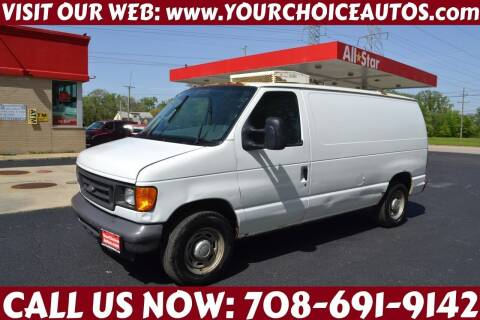 2006 Ford E-Series Cargo for sale at Your Choice Autos - Crestwood in Crestwood IL