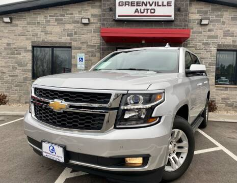 2017 Chevrolet Tahoe for sale at GREENVILLE AUTO in Greenville WI