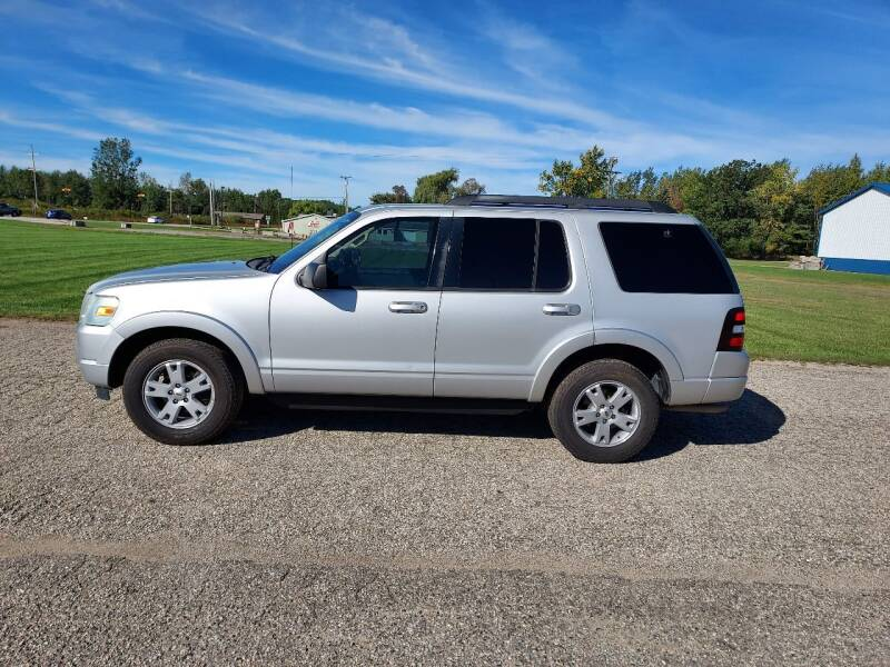 2010 Ford Explorer for sale at Steve Winnie Auto Sales in Edmore MI
