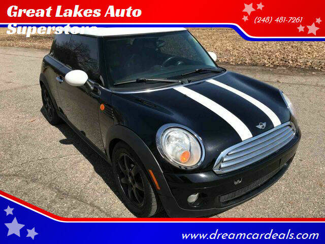 2009 MINI Cooper for sale at Great Lakes Auto Superstore in Pontiac MI